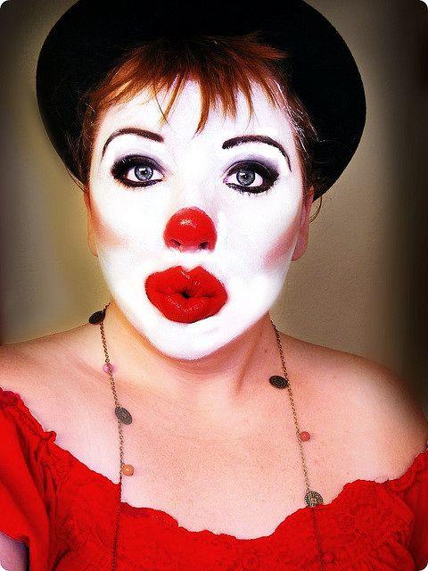 Clown Face Makeup Ideas   ... January 4, 2012 circus clowns grease greasy face makeup womens makeup