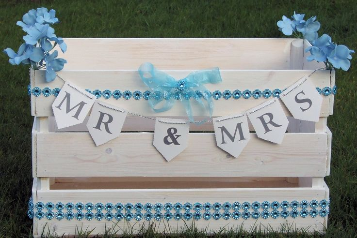 Wedding Cards Crate Post Box