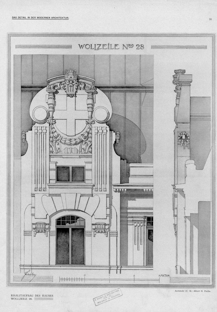 Serie I Einzelheiten Neuer Wiener Bauten