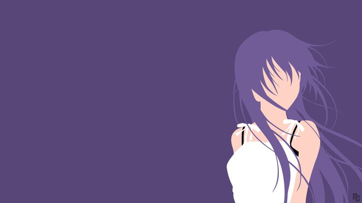 Minimalist Wallpaper | Eba | Kimi no Iru Machi by ncoll36