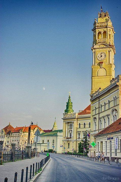 Street in Oradea Romania