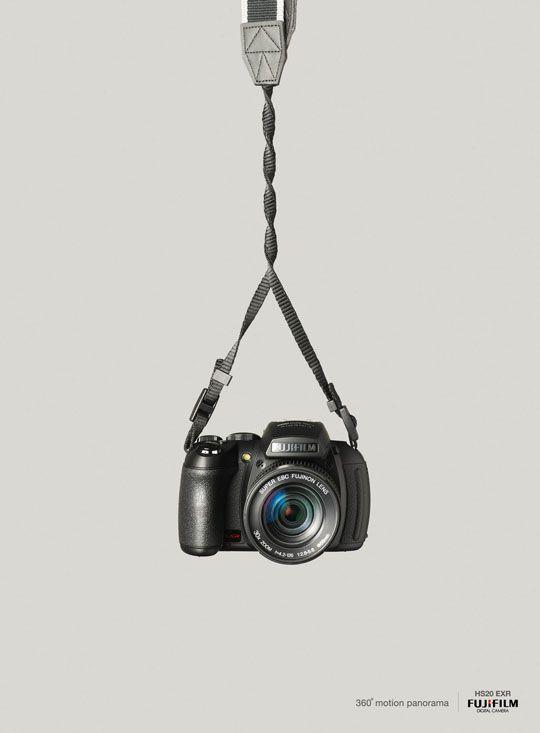 360 degree Panorama Fujifilm Finepix - Print Ad