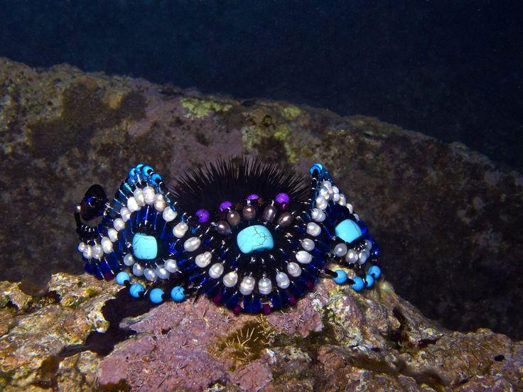 Medusa Blue bracelet - photo by RisRad in Rhodes Island - GREECE www.musesa.com