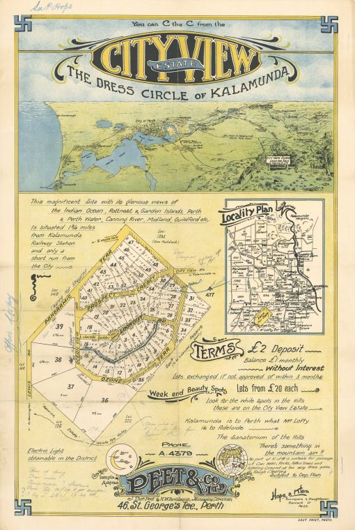 57/7/2: Cityview Estate: the dress circle of Kalamunda