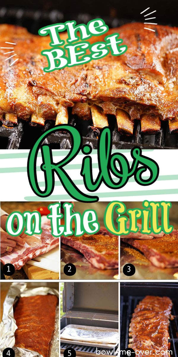 How To Make Fall Off The Bone Tender Ribs On The Grill Recipe Ribs On Grill Ribs On Gas Grill Summer Dinner Recipes Grill