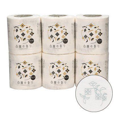 ●●●四国特紙 白檀の香り トイレットペーパー 1ロール(個包装)ダブル30m×30ロール入:Amazon.co.jp:美容/健康