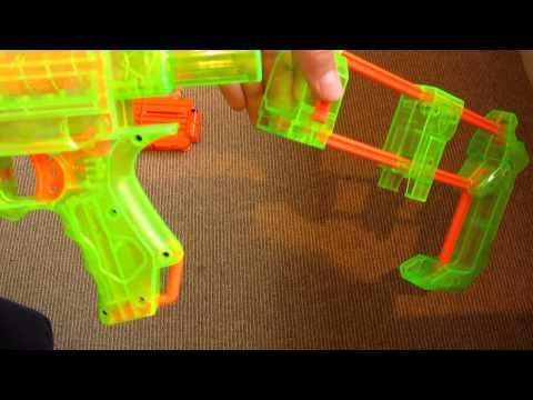 Nerf Recon CS-6 Sonic Series Review and Unboxing