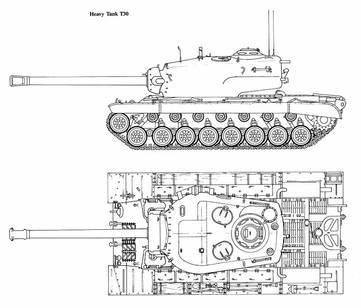 1122 best blueprint images on pinterest airplanes aircraft and t30 heavy tank blueprint malvernweather Image collections