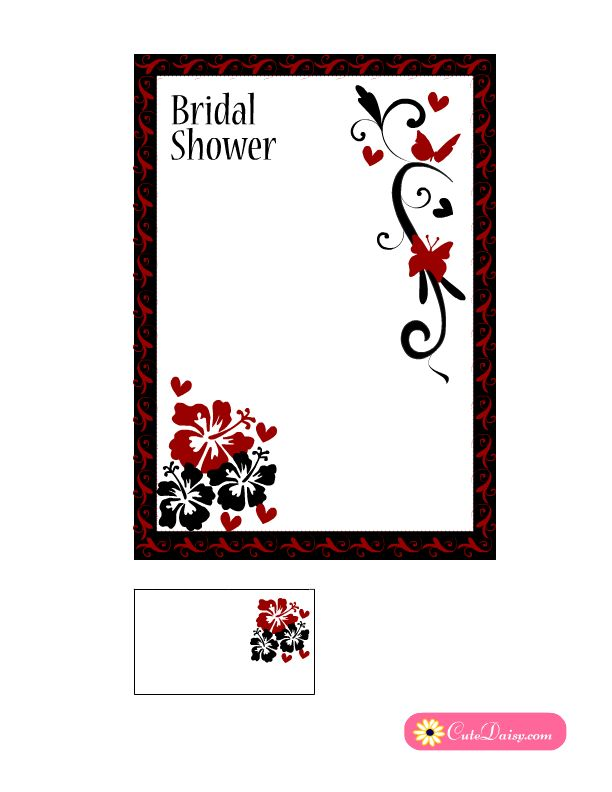 The 25+ best Red bridal showers ideas on Pinterest Gold wedding - free printable wedding shower invitations templates