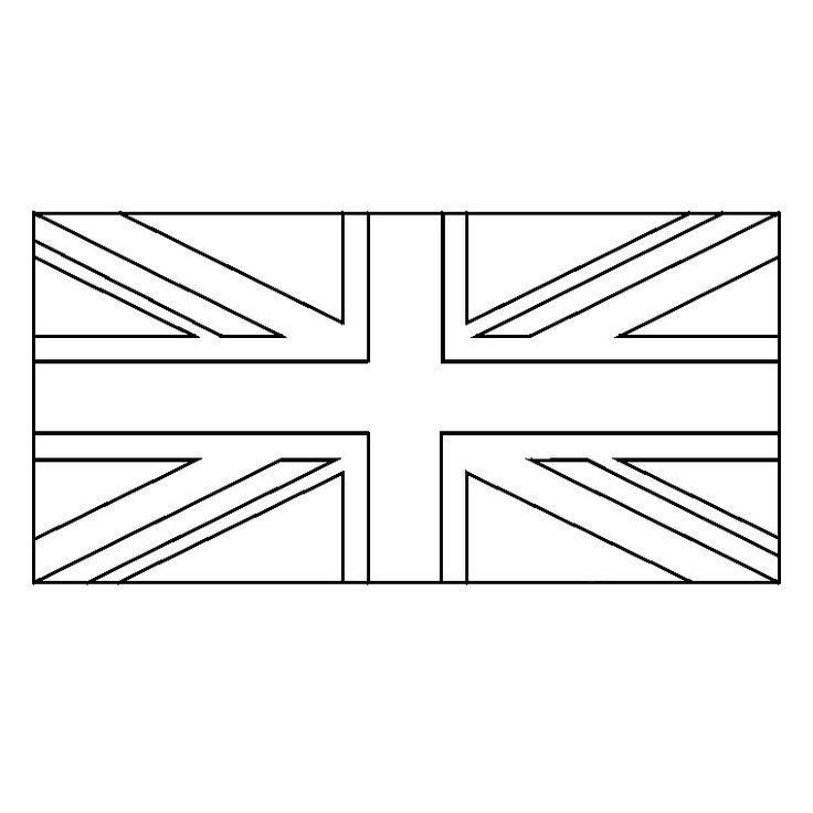 Coloriage Union Jack
