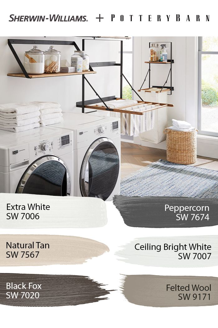 Laundry Room Paint Color Palette In 2020 Laundry Room Paint Color Room Paint Colors Laundry Room Paint