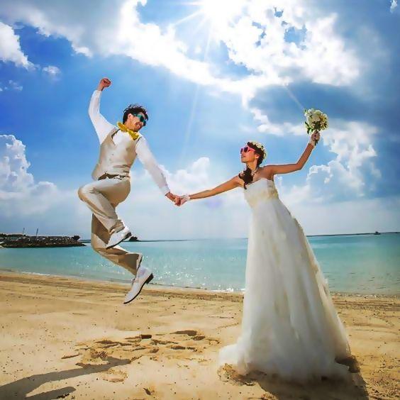 ハワイらしい結婚式 一覧