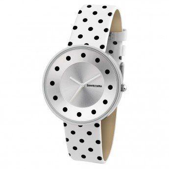 Reloj Blanco con Lunares Negros Lambretta Cielo Dots. http://www.relojeslambretta.es/products/reloj-blanco-con-lunares-negros-lambretta-cielo-dots?variant=1084754317