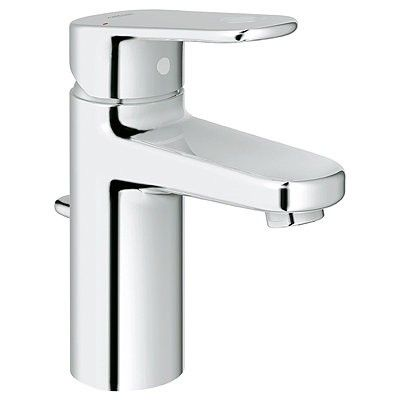 Grohe 33170002 Starlight Chrome Europlus Single Hole Bathroom Faucet: Remodelista