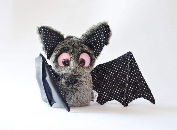 Bat. Toy. Handmade by Lady Stump https://www.facebook.com/SzyteZyjatka?ref=hl