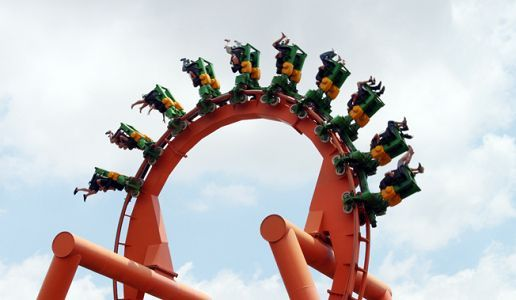The Anaconda ride, Gold Reef City © Tara Turkington/Flow Communications
