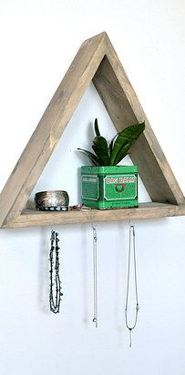 Buy a shadowbox to house all those random little knick knacks that are all over the place.