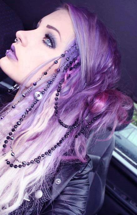 Purple Pastel Goth Obtén este color de pelo con los tintes POP COLOR de…