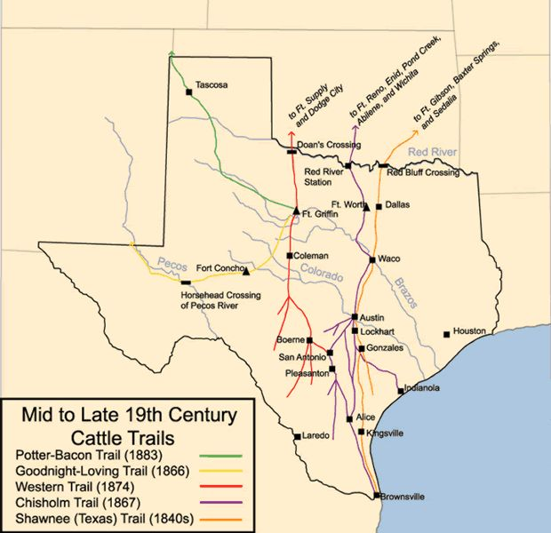 the major role of the chisholm trail in american history One piece of history that the cowboy played an important role in than the chisholm the great western cattle trail saw over in our american history.