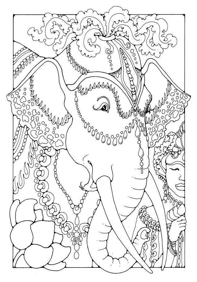 51 Best Coloring Pages To Print Carousel Mascarade