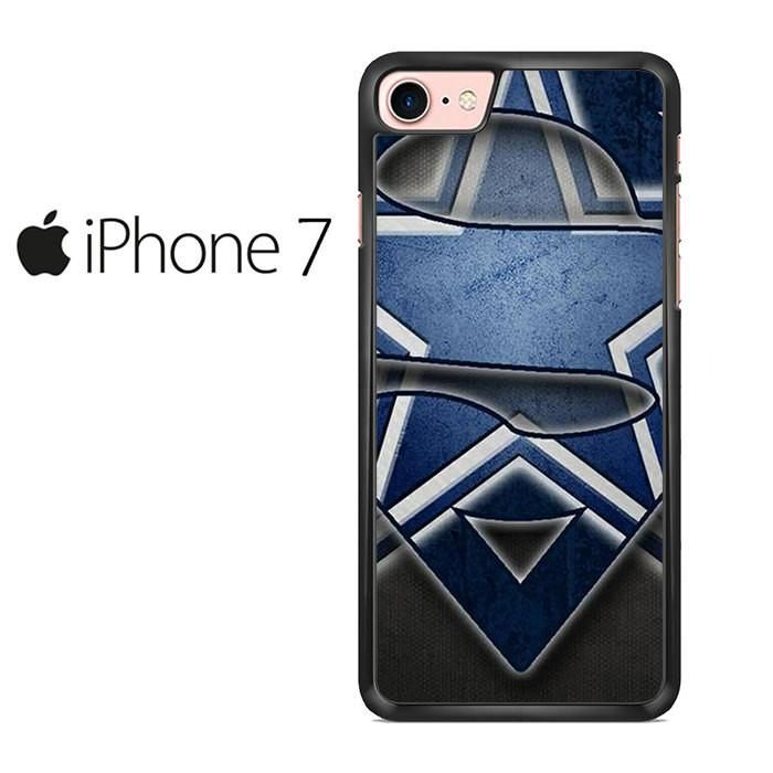 Dallas Cowboy Superman Logo Mid Iphone 7 Case
