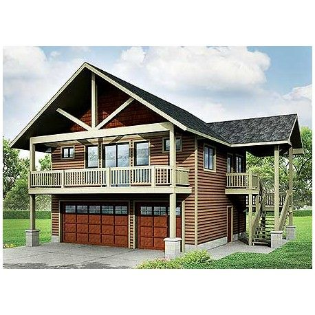 4 decorative garage kits with apartments house plans 21013 for Garage apartment kits