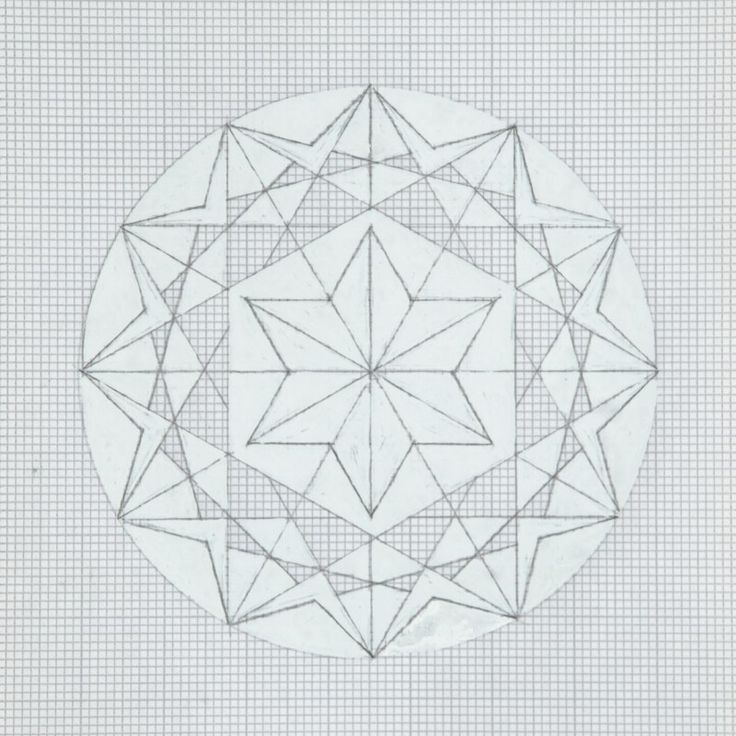 25 best Grid Art images on Pinterest Mandalas, Art designs and - triangular graph paper