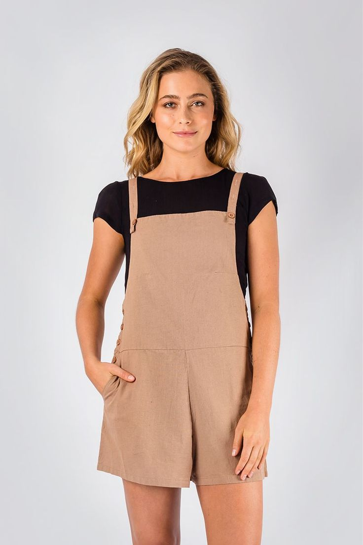 Flax Playsuit