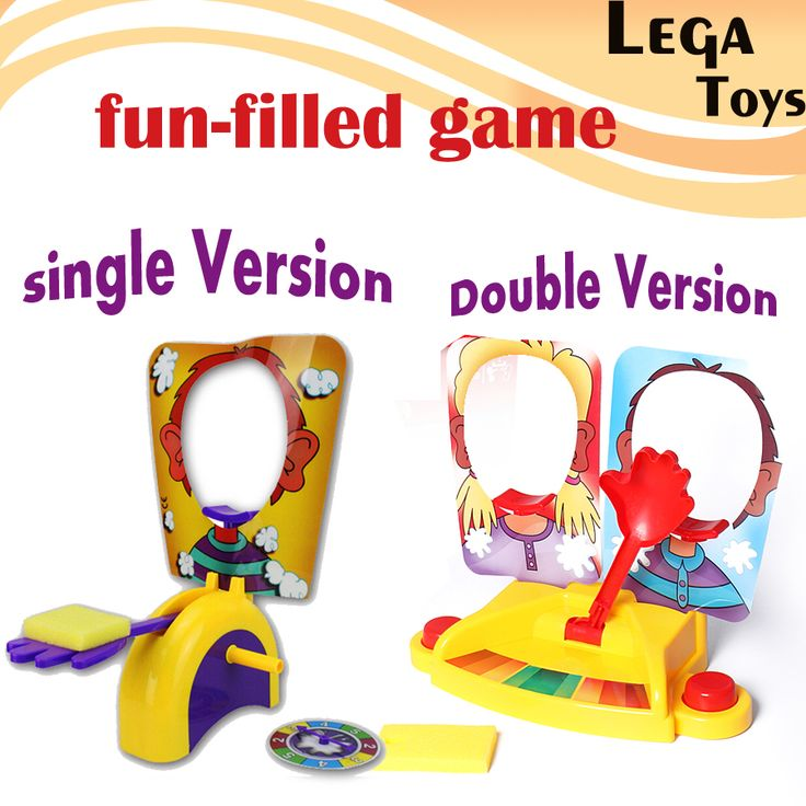 Single OR Double Antistress Toy Funny Gadgets Fun Face Showdown Game Kids Family Fun Filled Rocket Board Party Game Suspense Gif