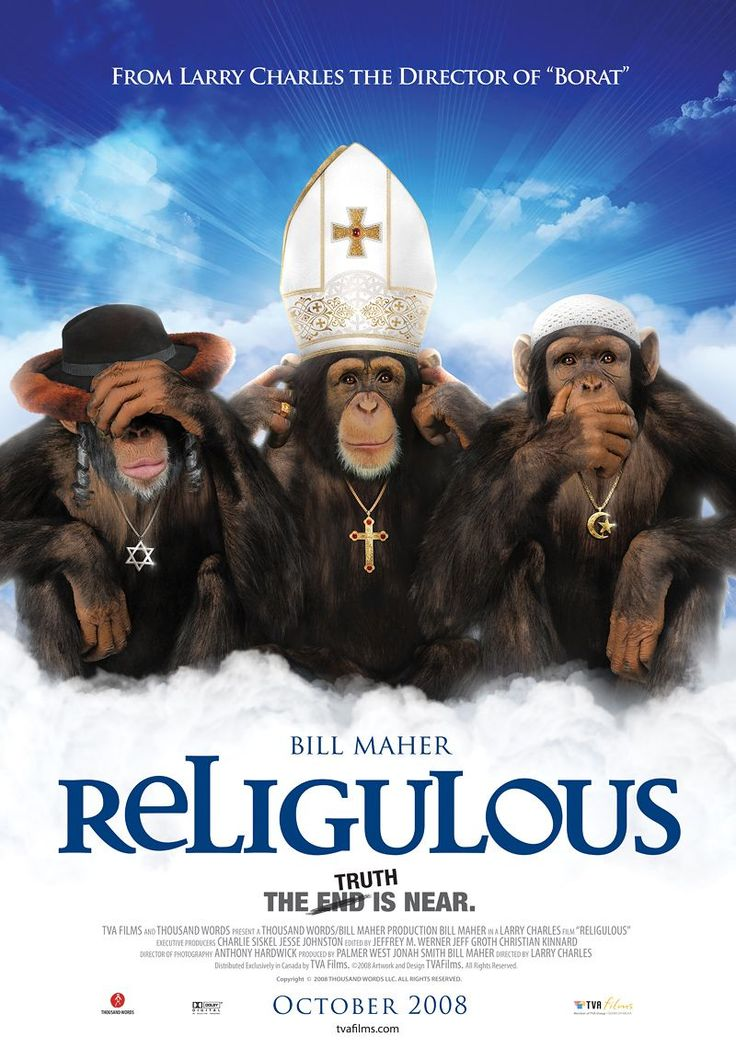 Bill Maher's take on the current state of world religion.