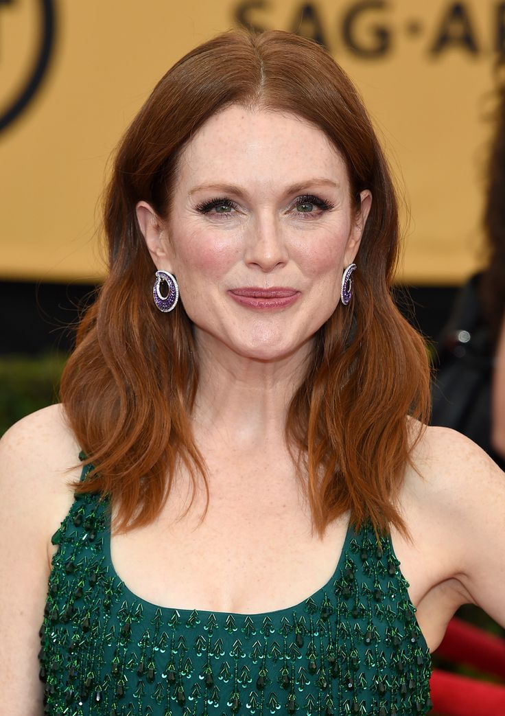 THIS Is the Newest, Hottest Haircolor of 2015 via Brit + Co. - Julianne Moore