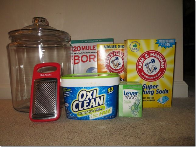 Best Laundry Detergent Recipe Serendipity Homemade