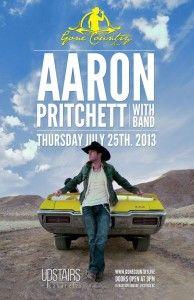 Aaron Pritchett July 25th Victoria, BC