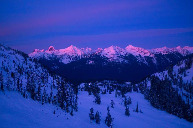 The American Alps aka the North Cascades WA USA. [OC][4608x3702]