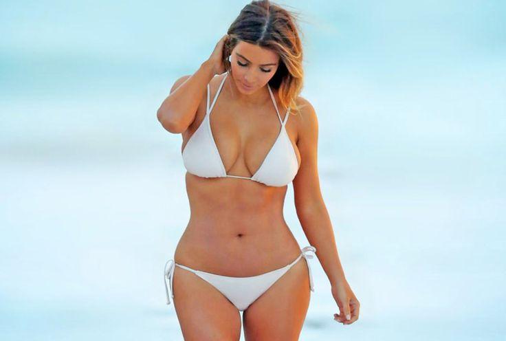 Instagram: Así luce Kim Kardashian sin Photoshop tras sus embarazos [FOTOS]