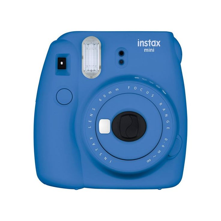 Cute and colorful design. Comes with a selflie mirror and a close-up lens attachment. New Macro Lens adapter for close-ups - 35cm to 50cm. Features automatic exposure measurement that helps capture the perfect photo every time. Uses (2 ) AA Batteries. #fujifilm #instant #camera #giftguide