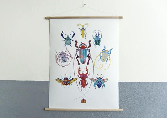 Hey, I found this really awesome Etsy listing at https://www.etsy.com/uk/listing/525773577/canvas-poster-stitches-bugs-wall-art
