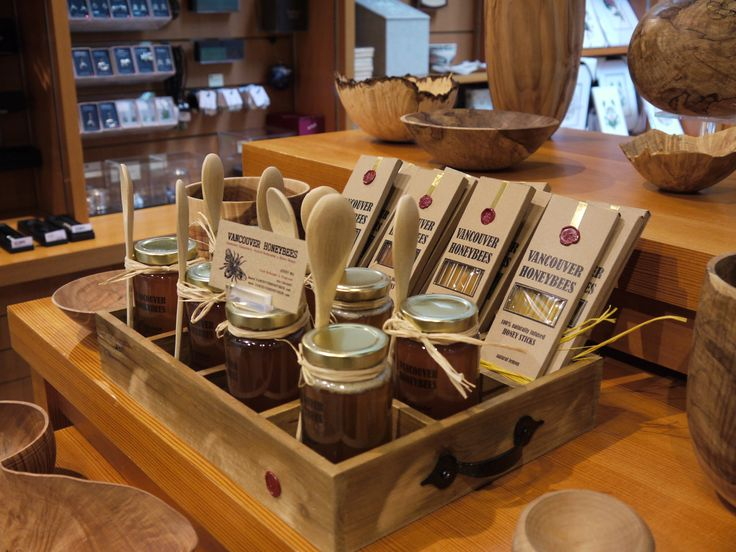 The MOA Shop: Natural honey products by Vancouver Honey Bees.