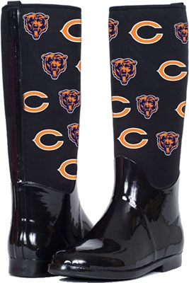 "Chicago Bears ""The Enthusiast II"" Rain Boots"