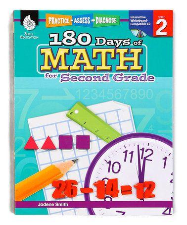 Loving this Grade 2 180 Days of Math Workbook Set on #zulily! #zulilyfinds