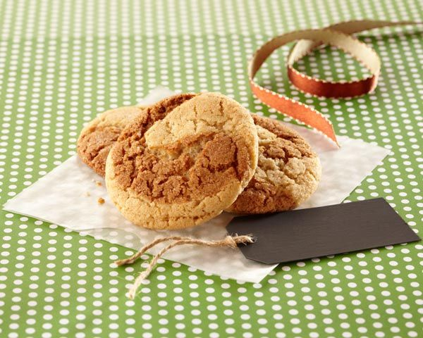 Classic snickerdoodle cookies and gingersnaps collide in this new favorite cookie.