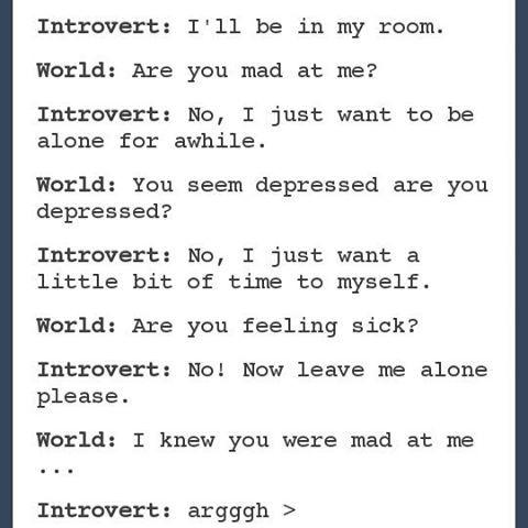 Ymmärrä introverttia