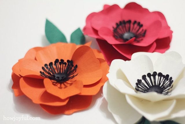 Silhouette Black Friday sale and a paper poppy flower tutorial | How Joyful
