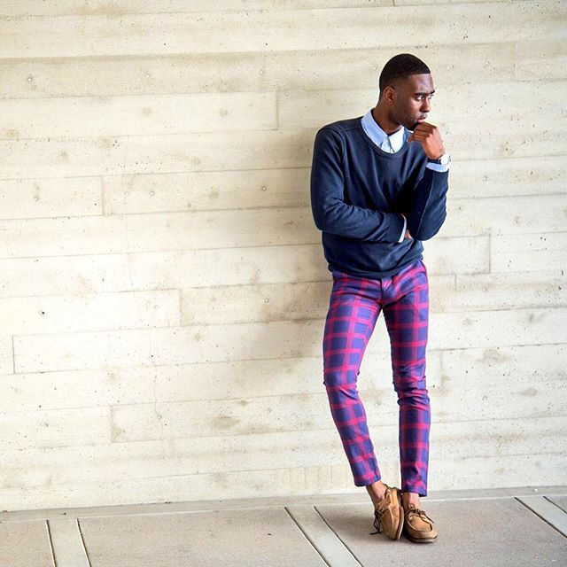 Mondaze  #SparksNStyle #preppy #happymonday #ootd wearing topman trousers