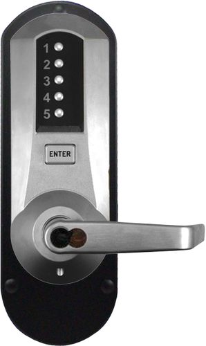 Kaba Simplex 5010SWL-26D-41 Mechanical Pushbutton Lever Lock W/ Schlage IC Prep