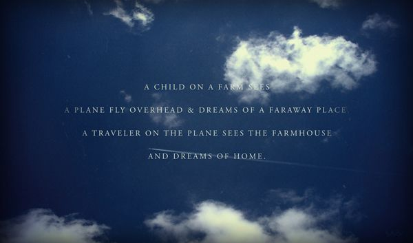 Country Dreams, Christopher Judd, Type Design, Planes Fly, Faraway Places, Aaron Christopher, Types Design, So True, Fly Overhead