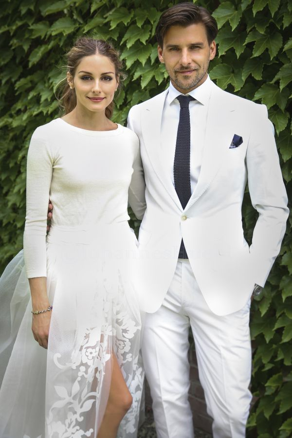 Olivia Palermo's Perfect Wedding Look   The Zoe Report