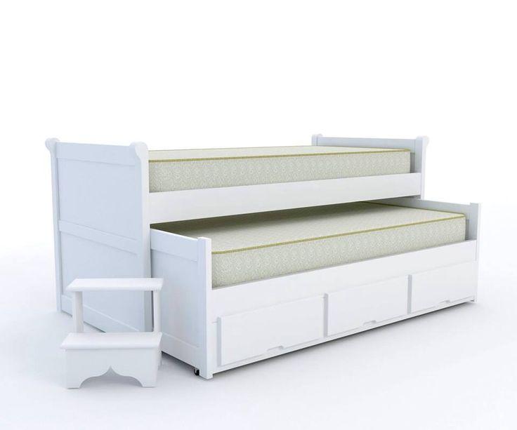 cama tripla oficina r stica quartos de crian as pinterest ForCama Oficina