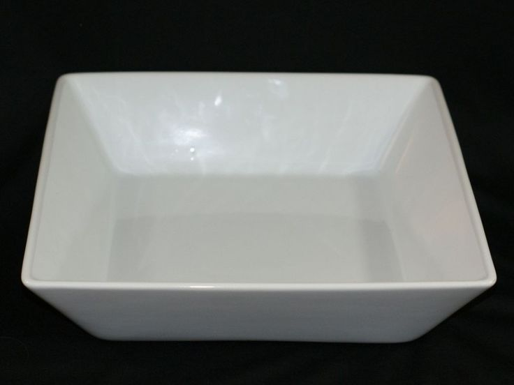 Pampered Chef Simple Additions Large White Square Serving ...