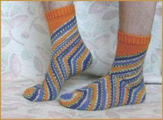 Носки от пятки. Вязание спицами